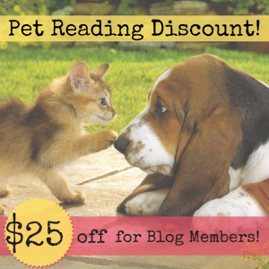 Pet Reading Discount!